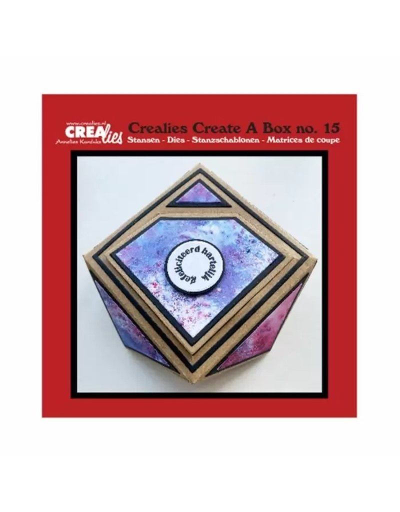 Crealies Crealies • Create a box Juwelendoosje