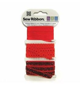 We R Memory Keepers We R Memory Keepers • Sew Ribbon ribbonset 5,5m Crimson