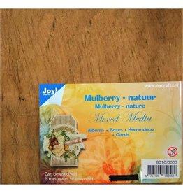 Joy!Crafts Joy!Crafts • Mulberry MixedMedia boombastvezels Bruin