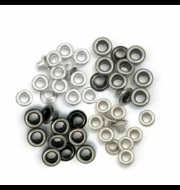 We R Memory Keepers We R Memory Keepers • Standard eyelets Cool Metal 48pcs