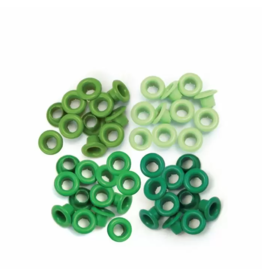 We R Memory Keepers We R Memory Keepers • Standard eyelets Green 60pcs