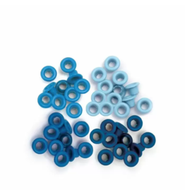 We R Memory Keepers We R Memory Keepers • Standard eyelets Blue 60pcs