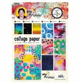 Studio Light Studio Light • Artsy Arabia collage paper 210x297mm nr.08
