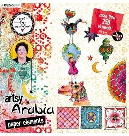Studio Light Studio Light • Artsy Arabia die cut block 200x200mm nr.02