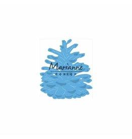 Marianne Design Marianne Design • Creatables snij- embosstencil Tiny's Dennenappel L