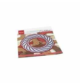 Marianne Design Marianne Design • Creatables snij- embosstencil Wicker Wreath