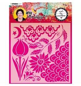 Studio Light Studio Light • Artsy Arabia mask stencil 200x200mm nr.13