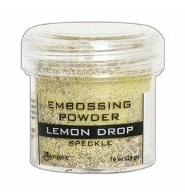 Tim Holtz · Ranger Ranger • Embossing powder speckle Lemon drop
