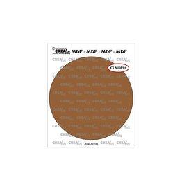 Crealies Crealies • MDF Cirkel