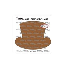 Crealies Crealies • MDF Steampunk hoed dames