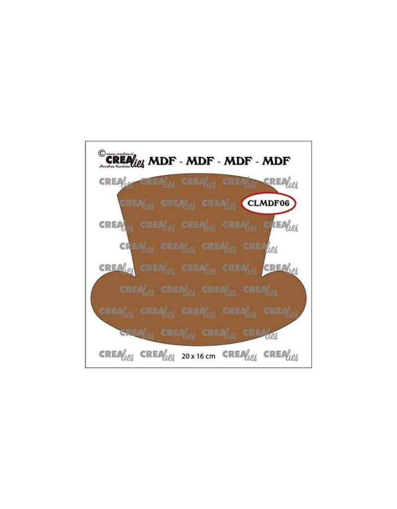 Crealies Crealies • MDF Steampunk hoed hames