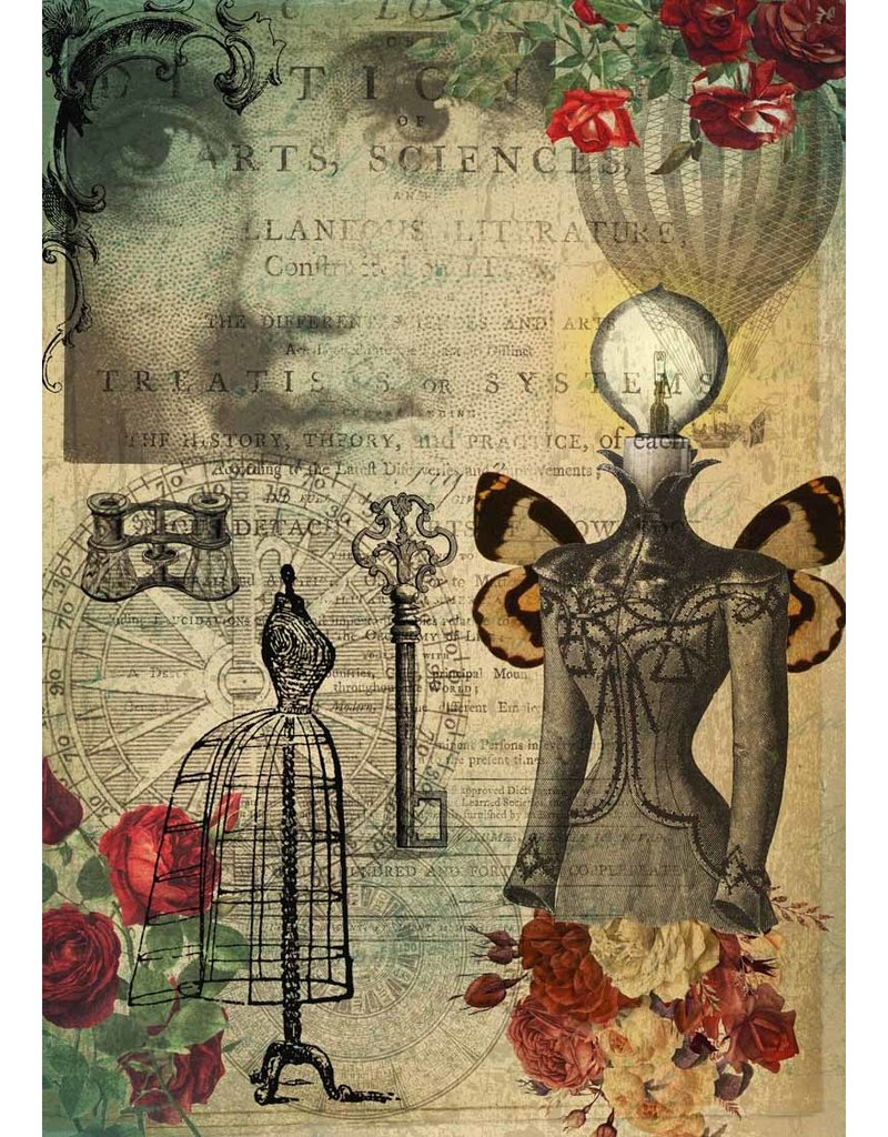 Decoupage Queen Arts and Sciences A3