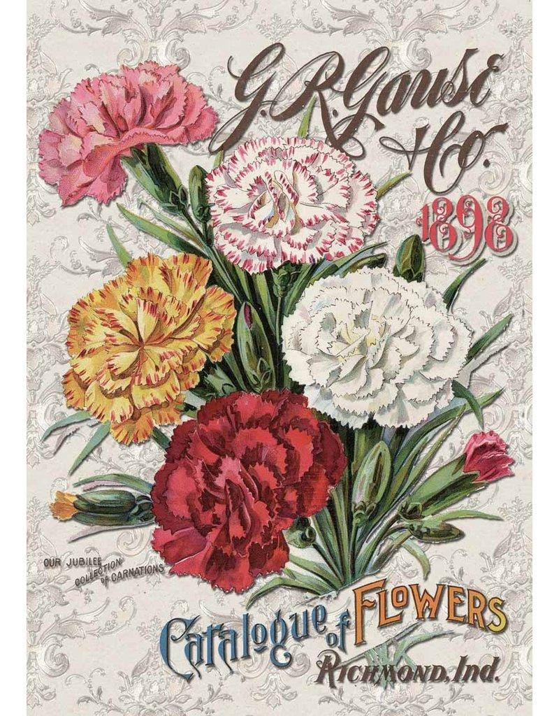 Decoupage Queen Carnation Catalog A3