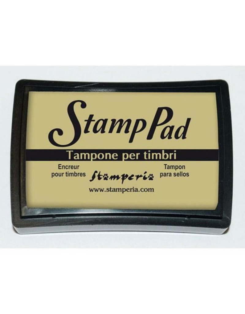 Stamperia Big pigment pad dark ivory
