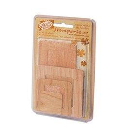 Stamperia Pack 6 adhesive labels+frames