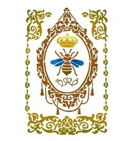 Stamperia Stencil G cm. 21x29,7 Queen Bee