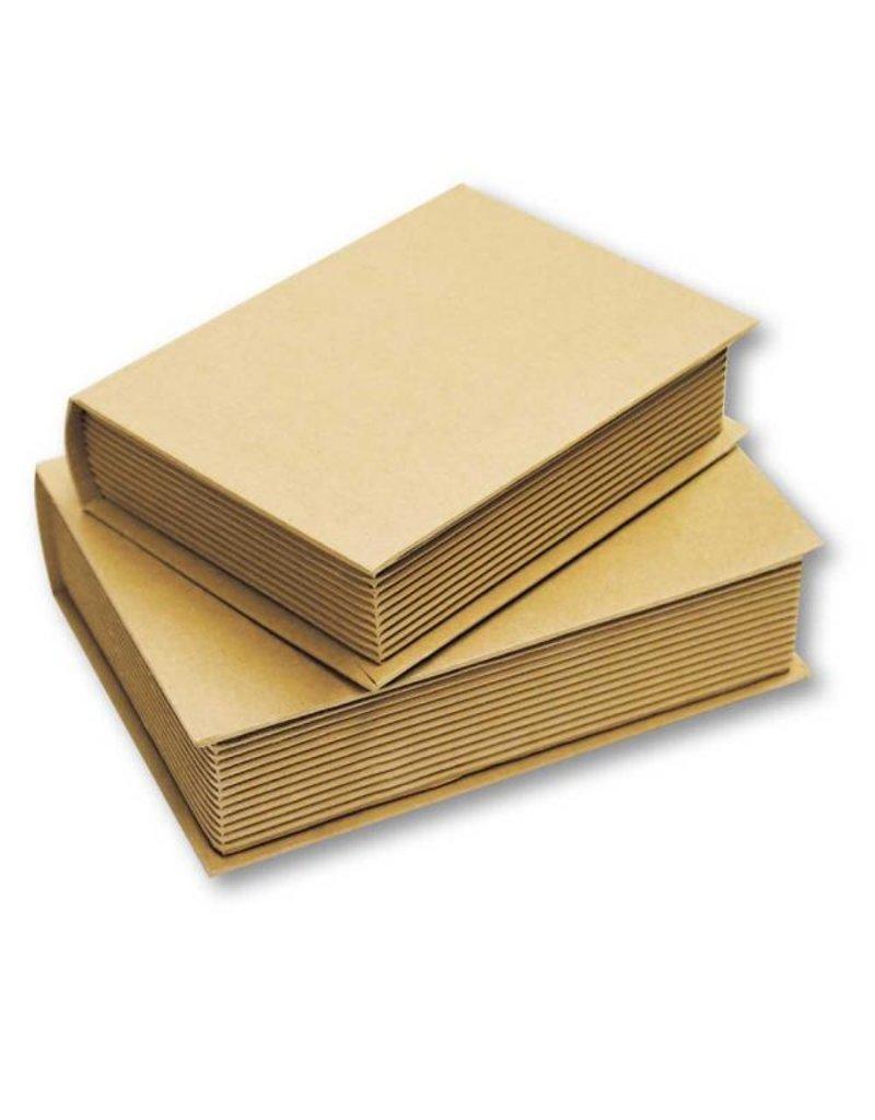 Stamperia *Cardboard set 2 book box cm. 13,5x5x18,5 h - cm12x4x15,5 h