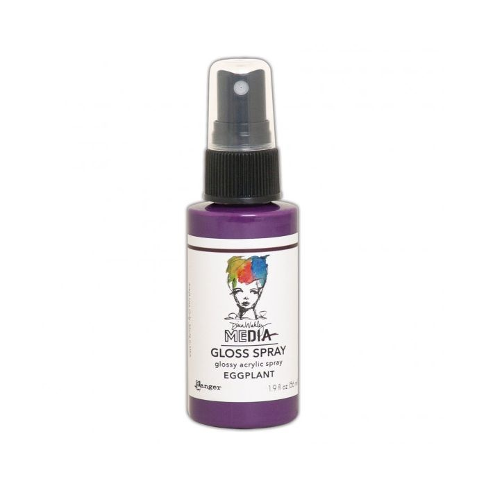 Ranger Ranger • Dina Wakley media gloss spray Eggplant
