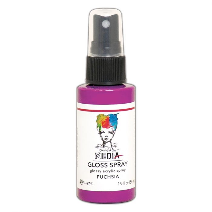 Ranger Ranger • Dina Wakley media gloss spray Fuchsia