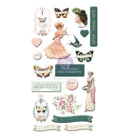 Prima Marketing MY SWEET COLLECTION PUFFY STICKERS – 20 PCS