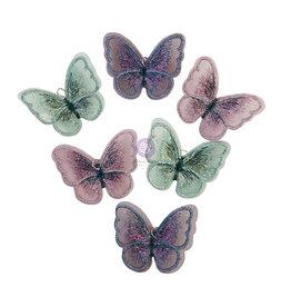 Prima Marketing My Sweet Collection Butterflies - 6 pcs / metal