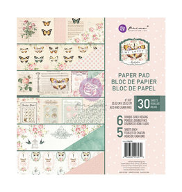 Prima Marketing My Sweet Collection 8x8 Paper Pad - 30 sheets / paper pad