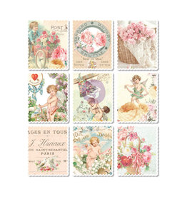 Prima Marketing Magic Love Collection Wood Stickers - 9 pcs / wood