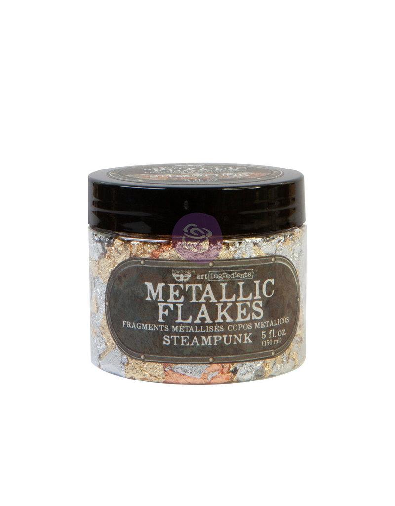 Prima Marketing Art Ingredients - Metal Flakes - Steampunk - 1 jar, total weight 30g including