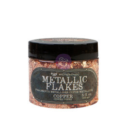 Prima Marketing Art Ingredients - Metal Flakes - Copper - 1 jar, total weight 30g including container / foil