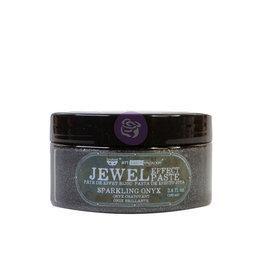 Prima Marketing Art Extravagance - Jewel Texture Paste - Sparkling Onyx - 1 jar, 100ml (3.4 fl oz) / art paste