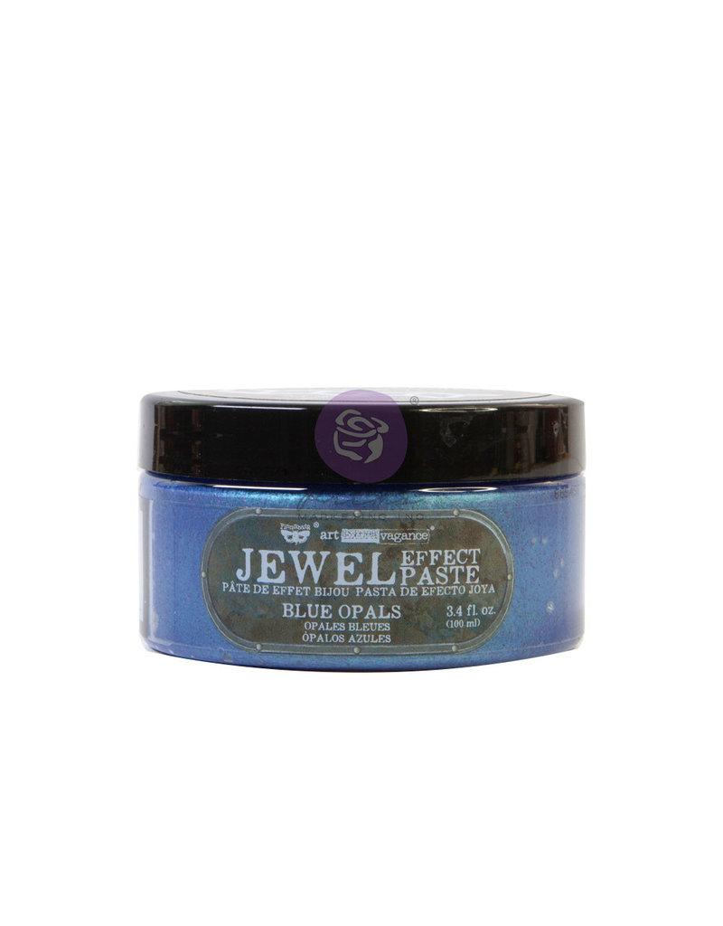 Prima Marketing Art Extravagance - Jewel Texture Paste - Blue Opals - 1 jar, 100ml (3.4 fl oz) / art art paste