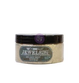 Prima Marketing Art Extravagance - Jewel Texture Paste - Golden Dust - 1 jar, 100ml (3.4 fl oz) / art art paste
