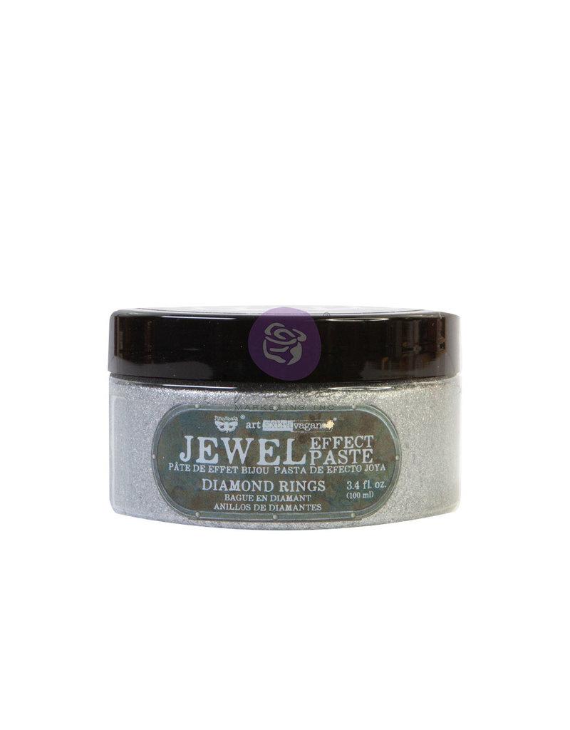 Prima Marketing Art Extravagance - Jewel Texture Paste - Diamond Rings - 1 jar, 100ml (3.4 fl oz) / art paste