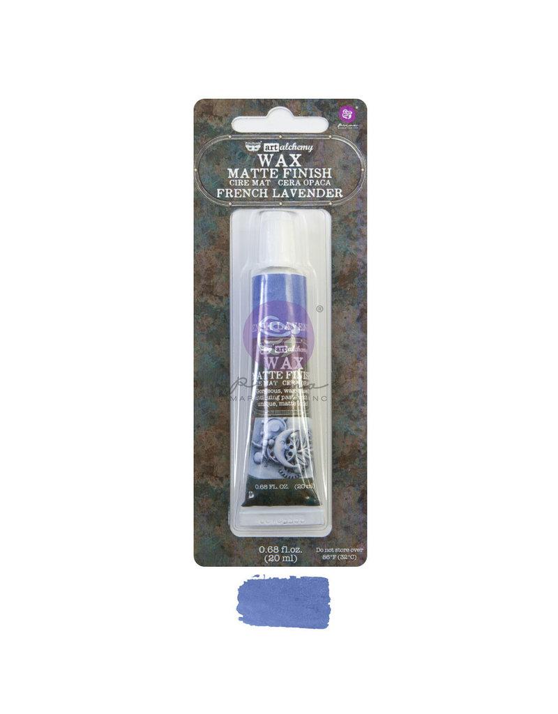 Prima Marketing Art Alchemy - Matte Wax - French Lavender - 1 tube, 20 ml / wax paste