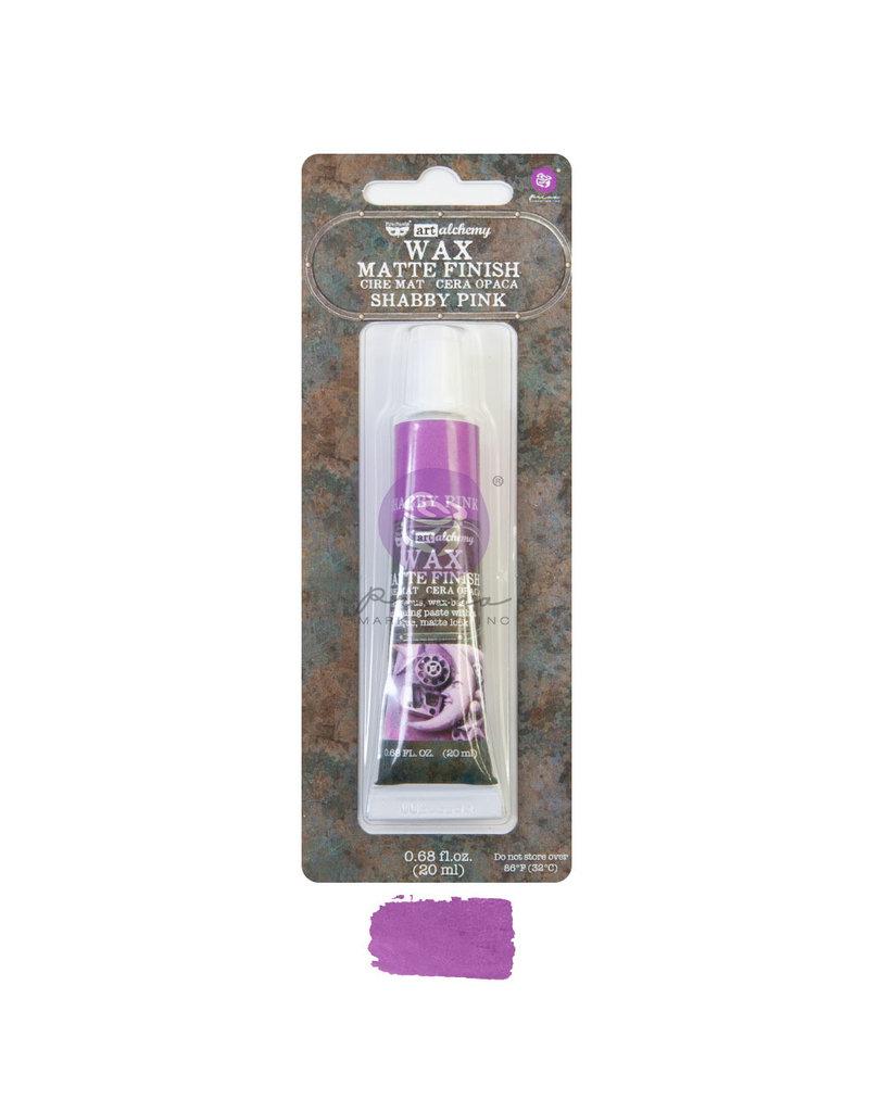 Prima Marketing Art Alchemy - Matte Wax - Shabby Pink  - 1 tube, 20 ml / wax paste
