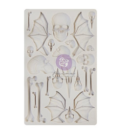 Prima Marketing Finnabair - Moulds - Wings and Bones - 1 pc, 5x8 in / silicone
