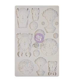 Prima Marketing Finnabair - Moulds - Vintage Portraits - 1 pc, 5x8 in / silicone