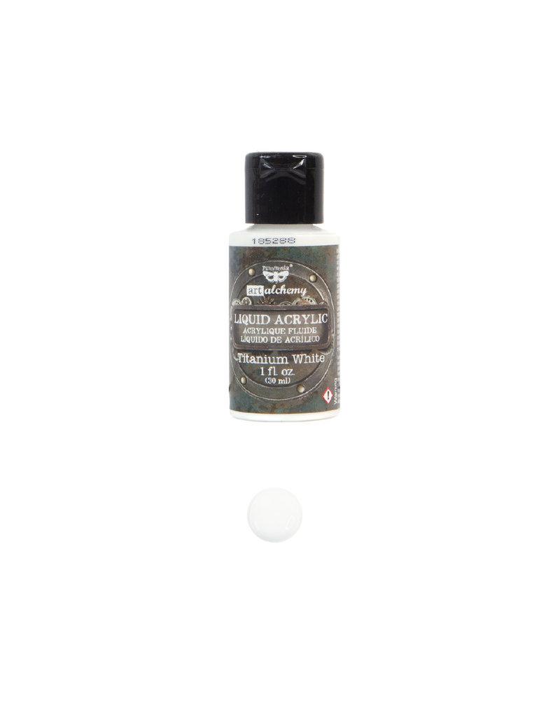 Prima Marketing Art Alchemy-Liquid Acrylic Titanium White - 1 bottle - 30ml / art paint -