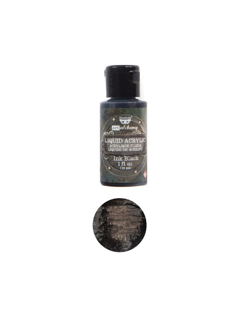 Prima Marketing Art Alchemy-Liquid Acrylic Ink Black - 1 bottle - 30ml / art paint