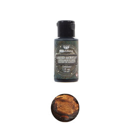 Prima Marketing Art Alchemy-Liquid Acrylic Umber - 1 bottle - 30ml / art paint