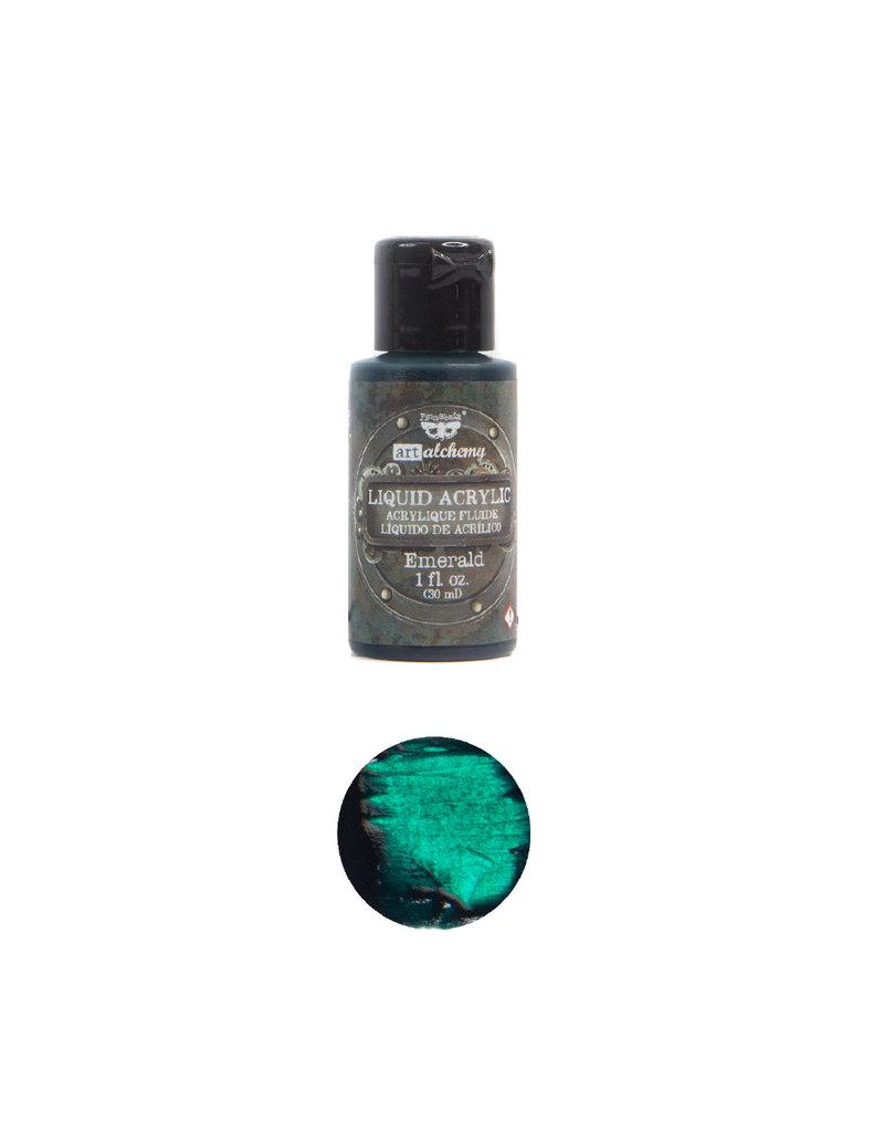 Prima Marketing Art Alchemy-Liquid Acrylic Emerald - 1 bottle - 30ml / art paint