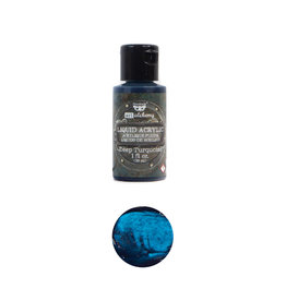 Prima Marketing Art Alchemy-Liquid Acrylic Deep Turquoise - 1 bottle - 30ml / art paint