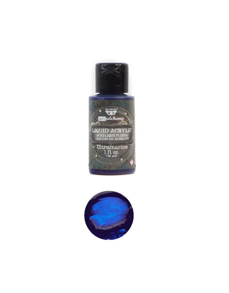 Prima Marketing Art Alchemy-Liquid Acrylic Ultramarine - 1 bottle - 30ml / art paint