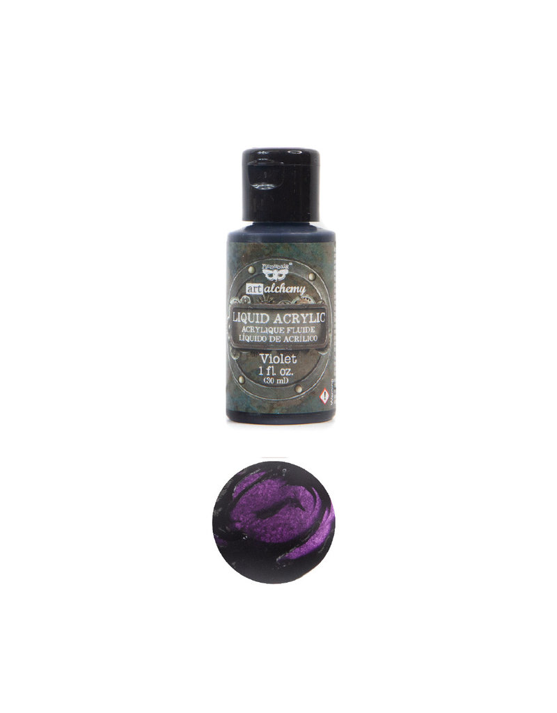 Prima Marketing Art Alchemy-Liquid Acrylic Violet - 1 bottle - 30ml / art paint