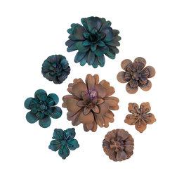 Prima Marketing Mechanicals - Desert Flowers  - 8 pcs / metal