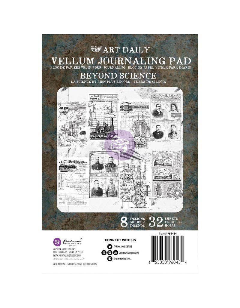 Prima Marketing Art Daily Velum Pad - Beyond Science - 32 sheets / paper pad