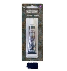 Prima Marketing Finnabair Wax Paste - Charcoal Black - 0.68 fl oz (20 ml) / wax paste
