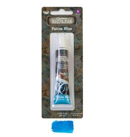 Prima Marketing Finnabair Wax Paste - Patina Blue - 0.68 fl oz (20 ml) / wax paste