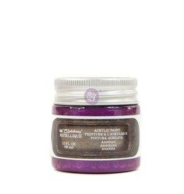 Prima Marketing Finnabair Metallique Acrylic Paint - Amethyst - 1 jar - 50ml (1.7 oz) / art paint