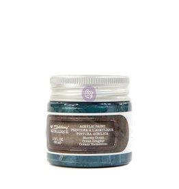 Prima Marketing Finnabair Metallique Acrylic Paint - Stormy Ocean - 1 jar - 50ml (1.7 oz) / art paint